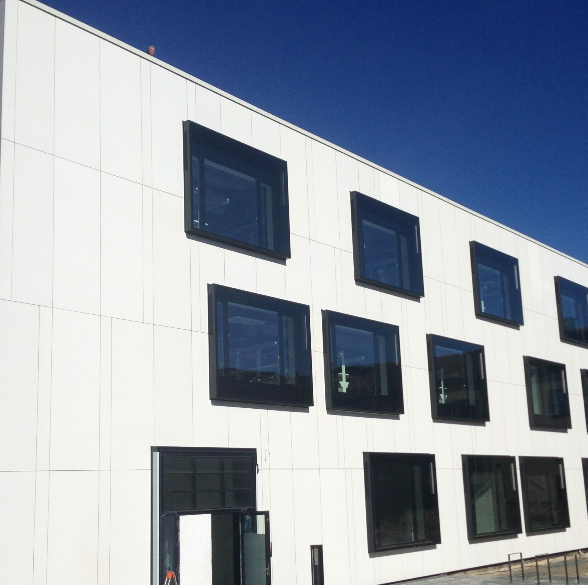 Fassade TU Freiberg